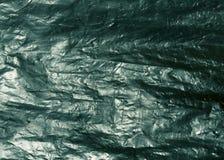 深蓝塑料袋纹理 免版税库存照片