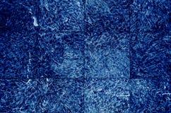 深蓝背景的片段 库存照片