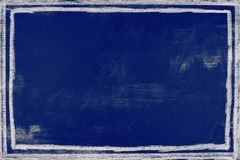 深蓝背景黑板纹理-图表背景 库存照片