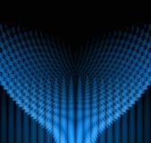 深蓝色几何相称未来派的样式 皇族释放例证