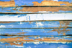 深蓝蓝色木背景和选择建筑材料 图库摄影