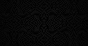 深黑色纯净的铜铍几何背景 时髦的最小的现代室 向量例证