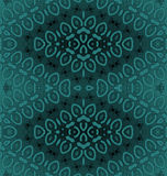 深绿抽象无缝的金刚石的样式 库存例证