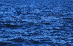 深刻的大海背景 免版税库存图片