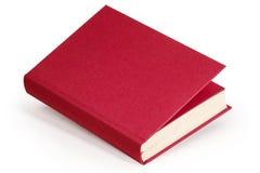 深紫红色空白的书-裁减路线 库存照片