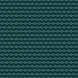 深绿蓝色无缝的样式 库存例证
