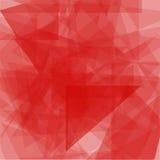 混乱三角构造的抽象轻的垂直的背景 几何模式 免版税库存图片