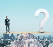 混乱和平衡概念 免版税库存图片