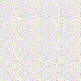 混乱小正方形,面包屑 手拉的飞溅纹理 微小的各种各样的大小斑点或一滴提取装饰品 皇族释放例证