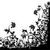 混乱花卉向量 向量例证