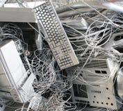 混乱计算机 免版税库存图片