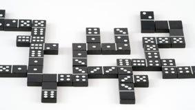 混乱Domino 库存照片