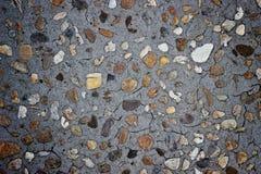 混凝土和石渣样式背景 库存照片