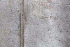 混凝土墙的纹理在工地工作的 免版税库存照片