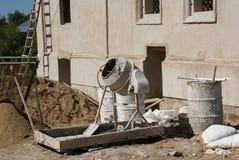 混凝土搅拌机 库存照片