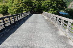 混凝土桥梁  库存照片