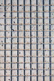 混凝土的形状 免版税库存照片