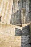 混凝土的抽象几何背景 库存图片