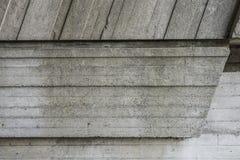 混凝土的抽象几何背景 库存照片