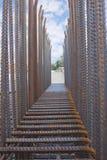 混凝土钢筋2 库存图片