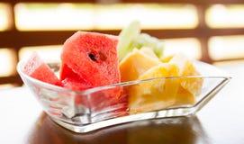 混合亚洲人果子 免版税库存照片