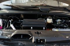 混合动力车辆引擎  免版税库存图片