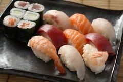 混合寿司 免版税库存照片