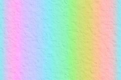 混合彩虹纸背景 库存图片