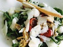 混合沙拉开胃菜 库存照片