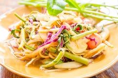 混合沙拉菜 库存图片