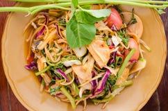 混合沙拉菜 库存照片