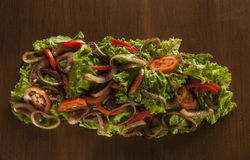 混合沙拉 免版税图库摄影