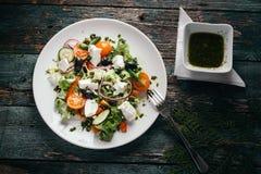 混合沙拉 免版税库存图片