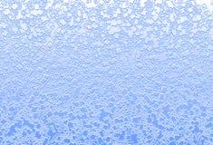 混合浅兰的含水正方形飞溅背景例证 免版税库存图片