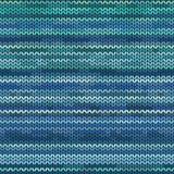 混合物被编织的无缝的样式 库存例证