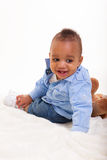 混合的族种婴孩 图库摄影
