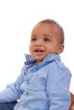 混合的族种婴孩 免版税图库摄影