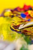 混合的油漆 免版税库存图片
