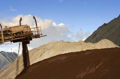 混合的矿石 图库摄影