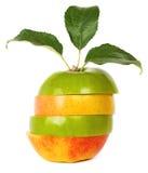 混合的苹果 库存照片