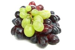 混合的葡萄 免版税库存图片