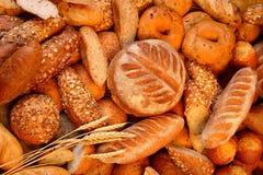 混合的面包 库存图片