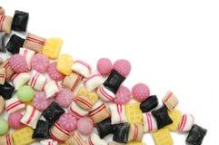 混合的candys五颜六色的果子 免版税库存照片