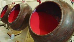 混合糖果的机器果冻液体 糖果工厂 影视素材