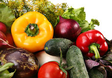 混合蔬菜 免版税库存图片