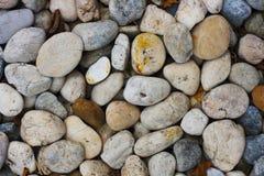 混合颜色石头背景 免版税库存图片