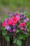 混合从特兰西瓦尼亚的花花束 库存图片