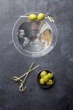 混和的鸡尾酒包含eps10图象马蒂尼鸡尾酒多种模式透明度 库存图片