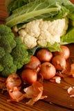混杂的人群蔬菜 库存照片