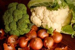 混杂的人群蔬菜 免版税库存照片